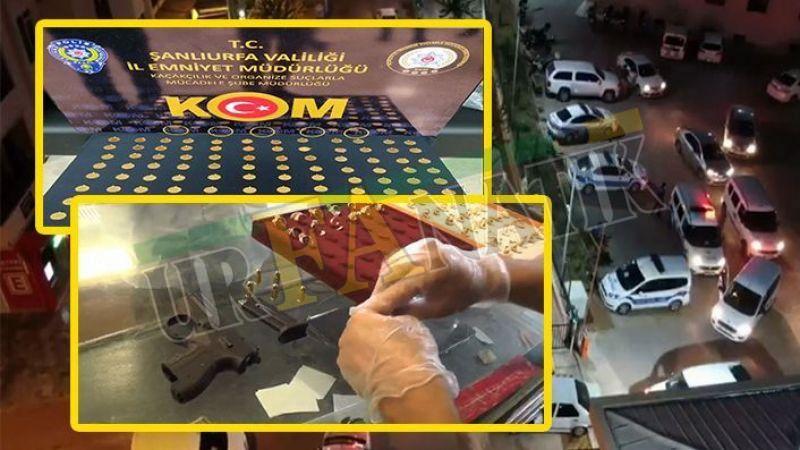 Şanlıurfa'da sahte altın operasyonu: 5 tutuklama