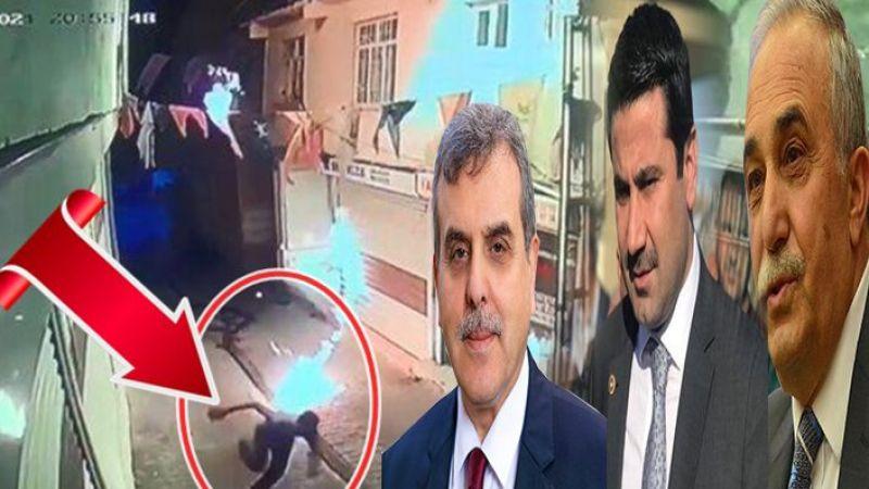 Molotoflu saldırıya Urfalı başkan ve vekillerden sert tepki