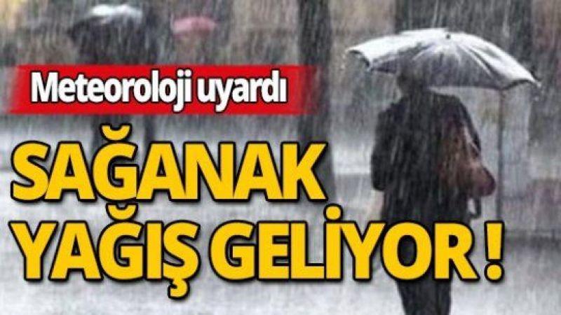 Meteoroloji'den 18 il için uyarı! Kuvvetli sağanak yağış geliyor
