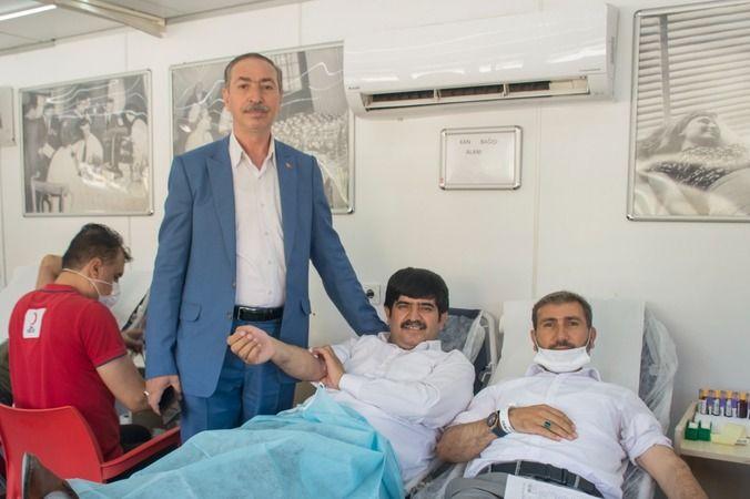 Şeyhanlılar Federasyonundan kan bağış kampanyası