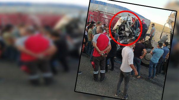 Şanlıurfa'daki tır kazasından acı haber!
