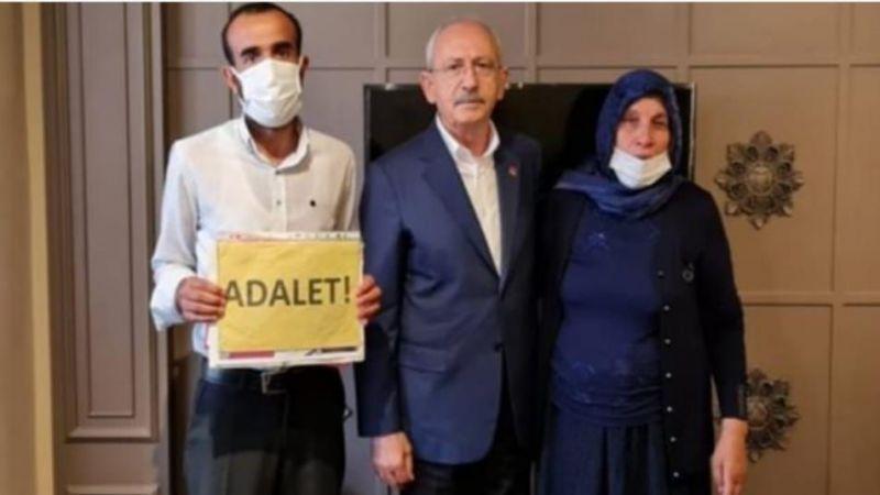 Urfalı acılı anne Kılıçdaroğlu ile görüştü