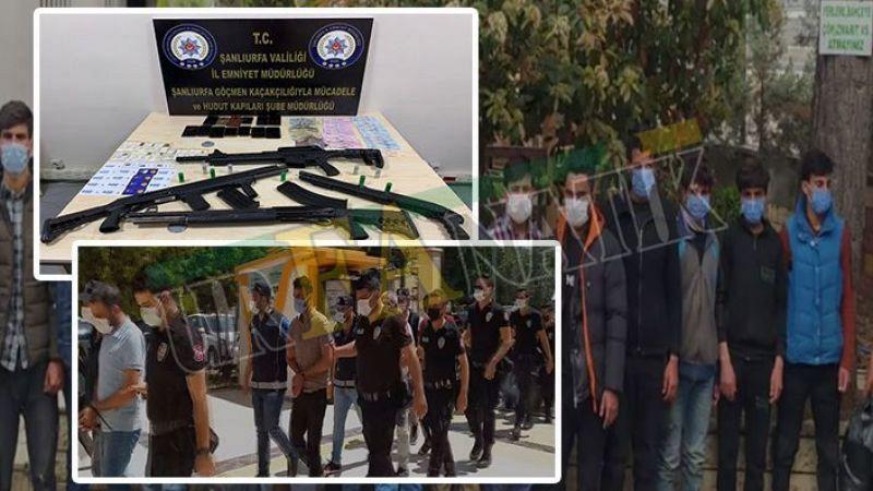 Urfa'da Göçmen kaçakçılarına operasyonda 6 tutuklama