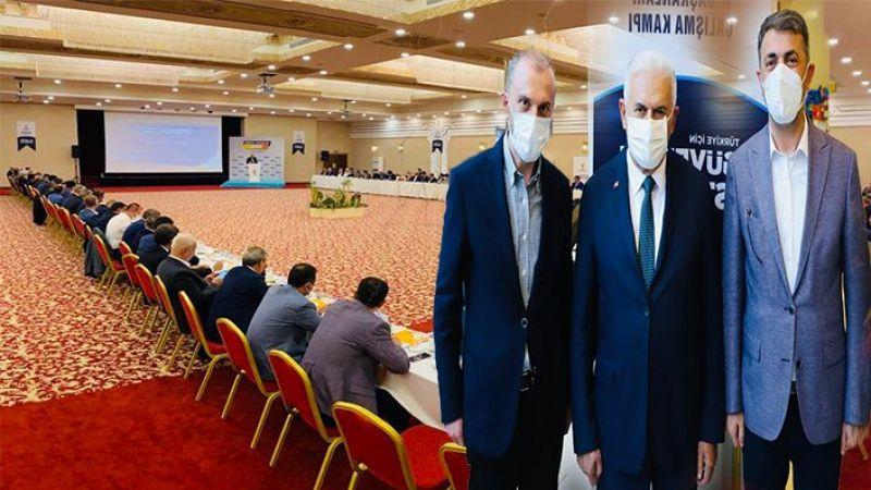 AK Parti İl Başkanı Kırıkçı kampa girdi...