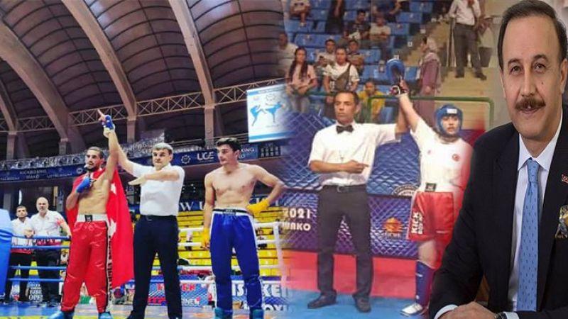 Urfalı sporcular Özbekistan'da şampiyon oldu