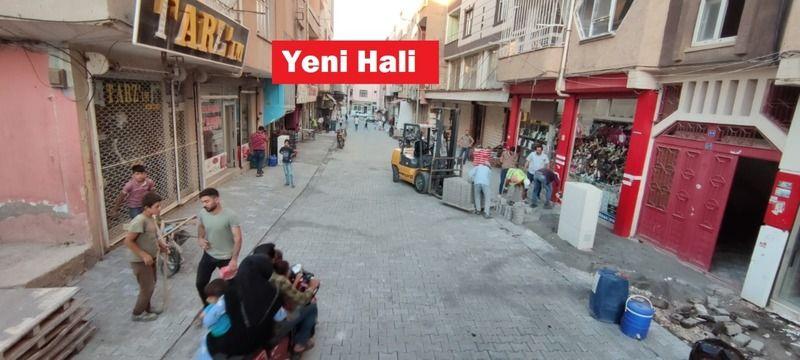 Viranşehir'de deforme olan yollarda onarım