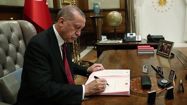 Erdoğan imzaladı! Çok Sayıda Atama Kararı Resmi Gazete 'de