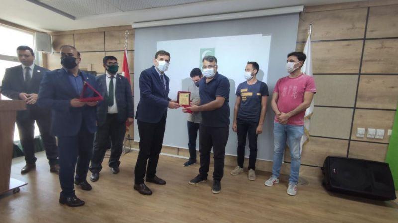 Şanlıurfa'da 11.SNSG ödül töreni düzenlendi