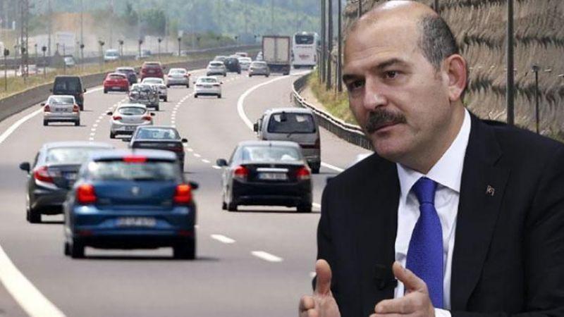 Bakan Soylu duyurdu! Trafikte yeni dönem başlıyor