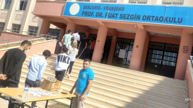 Viranşehir Belediyesi öğrencilerin yanında
