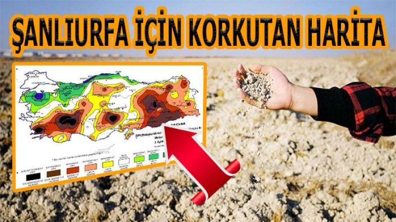 Meteoroloji paylaştı! İşte Urfa'yı bekleyen büyük tehlike