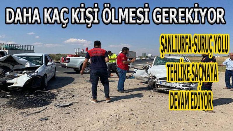 Şanlıurfa'da yetkililer uyuyor vatandaş bu yolda ölüyor