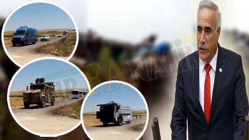 Urfa'da bitmeyen DEDAŞ zulmü: TOMA' larla mahalleye girdi