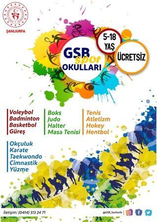 GSB Spor okulları kayıtları  başladı