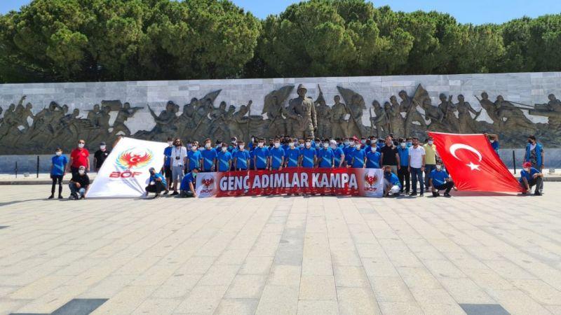 Urfa polisi, öğrencileri Çanakkale'de gezdirdi