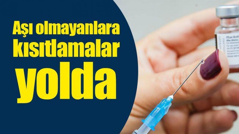 Aşı olmayanlara kısıtlama geliyor! Vali ilk işareti verdi