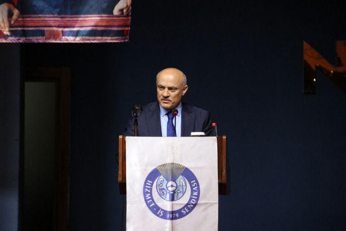 HAK-İŞ Genel Başkan Yardımcısı Hüseyin Öz, Şanlıurfa'daki üyelerle buluştu