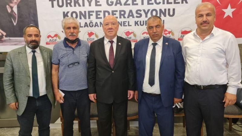 Başkan Kolaylı güven tazeledi, Başkan Gülebak listede yer aldı