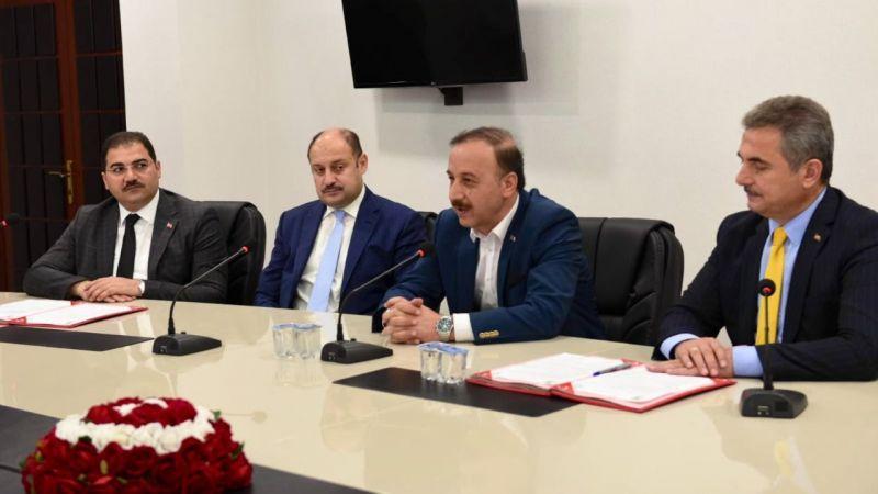 Urfa'da kardeş Kent Protokolü imzaladılar