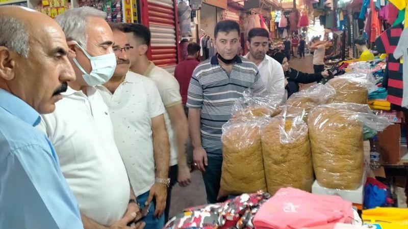 Vekil Aydınlık ve CHP'li heyetten tütüncülere destek