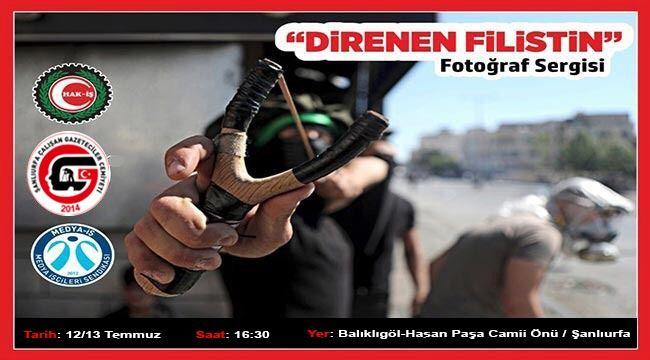 Şanlıurfa'da 'Direnen Filistin' sergisi açılacak