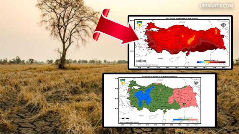 Meteoroloji raporu yayımladı! Urfa'da tehlike gittikçe artıyor