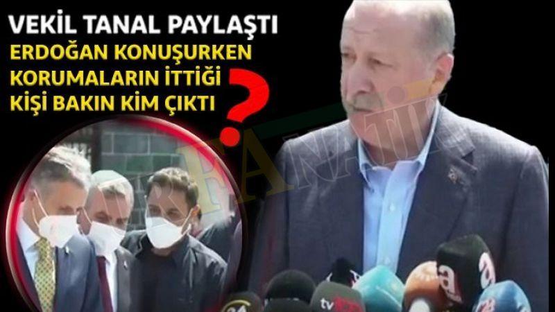 Başkan Erdoğan'ın korumaları itmişti! O kişi Urfa'dan bakın kim çıktı