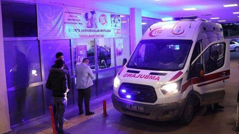 Karaköprü'de motosiklet devrildi: 1 yaralı