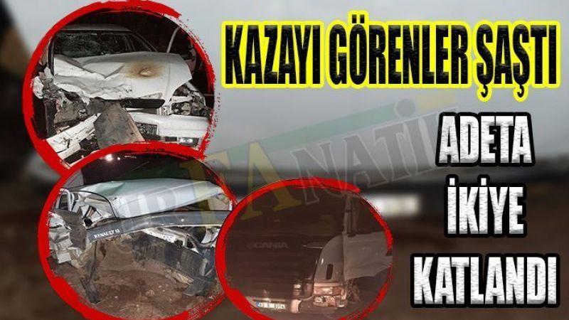 Şanlıurfa'da feci kaza: Ölü ve yaralılar var