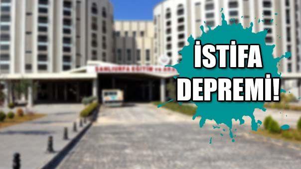Urfa'daki hastanede neler oluyor: Yönetimin hepsi istifa etti!