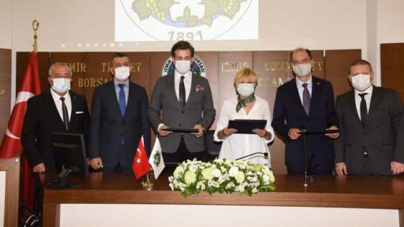 Urfa'da kurulacak depoya İzmir Ticaret Borsasından destek