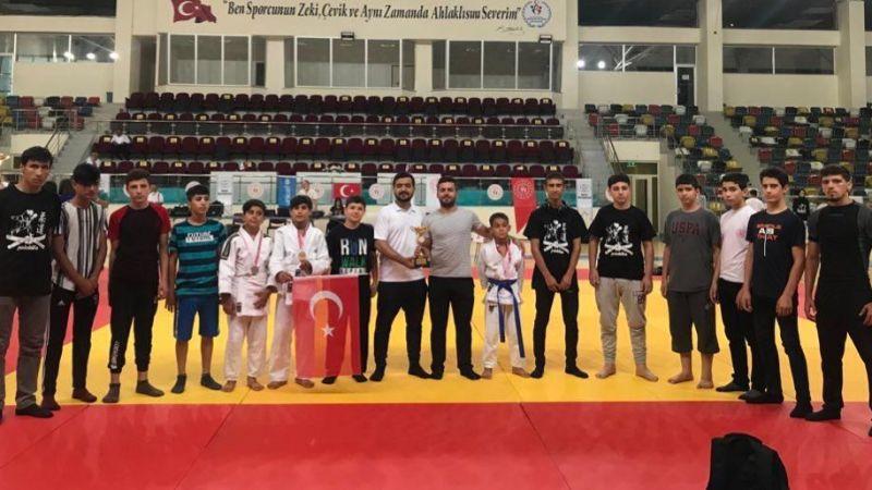 Şanlıurfalı judoculardan 9 madalya