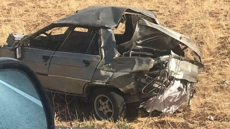 Bayram günü Urfa ölüm yolunda kaza: Yaralılar var!
