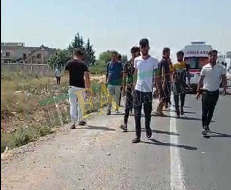 Urfa'da bayram günü feci kaza: 1'i ağır 3 yaralı!