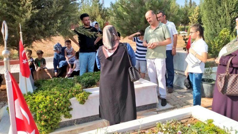 Başkan Yavuz Şehit ailelerini yalnız bırakmadı