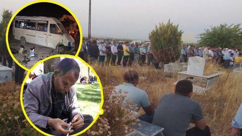 Konya'da feci kazada ölen Urfalı tarım işçisi Suruç'ta defnedildi