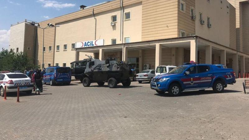 Siverek'te otomobiller çarpıştı: 4 yaralı