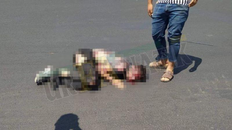 Urfa'da feci kaza: Metrelerce tırın altında sürüklendi!