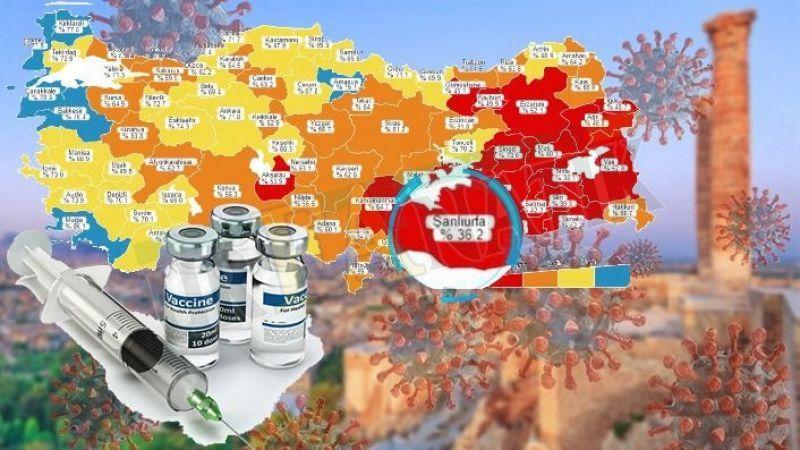 Güneydoğu'da Urfa dahil 7 il Kırmızı, 2 il turuncu kategoride