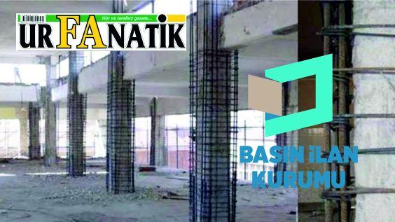 Bina güçlendirme işi yaptırılacaktır