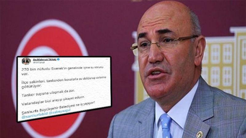 Vekil Tanal'dan sert tepki: Büyükşehir Belediyesi ne iş yapıyor?