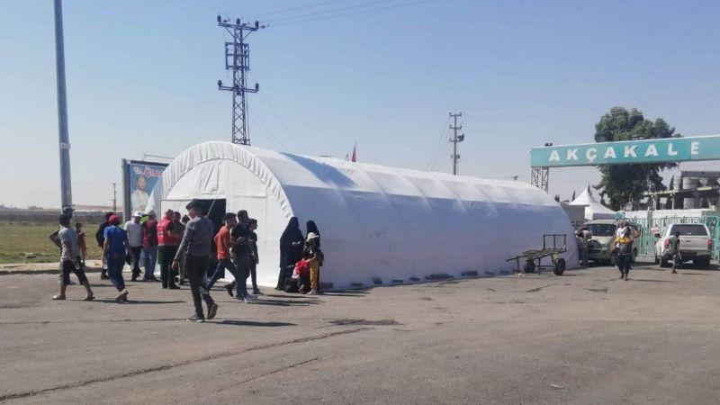 Urfa'dan Suriye'ye geçişler sonlandırıldı