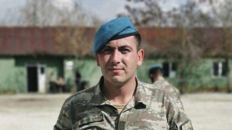 Kahreden acı haber: 1 asker şehit oldu