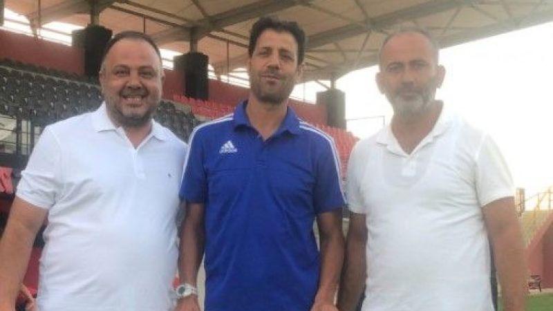 Baturay'dan Hüseyin Dağ'a ve futbolculara ziyaret