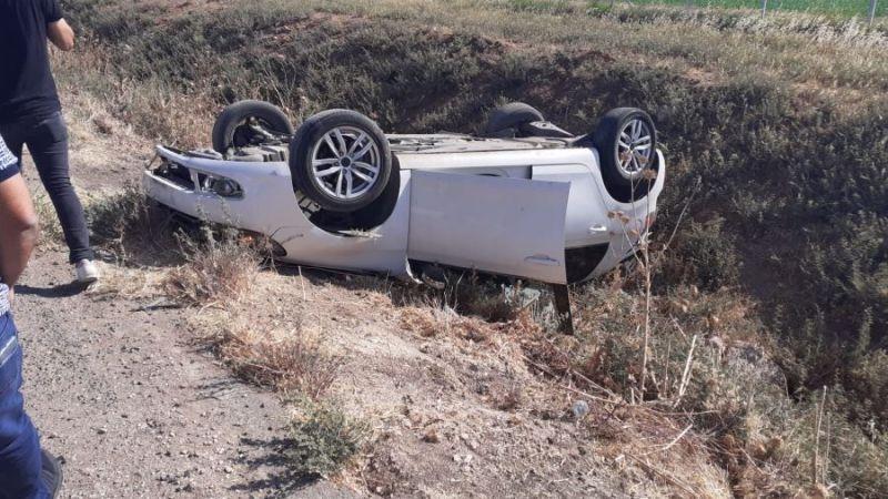 Şanlıurfa'da nöbetten dönen sağlıkçılar kaza yaptı: Yaralılar var
