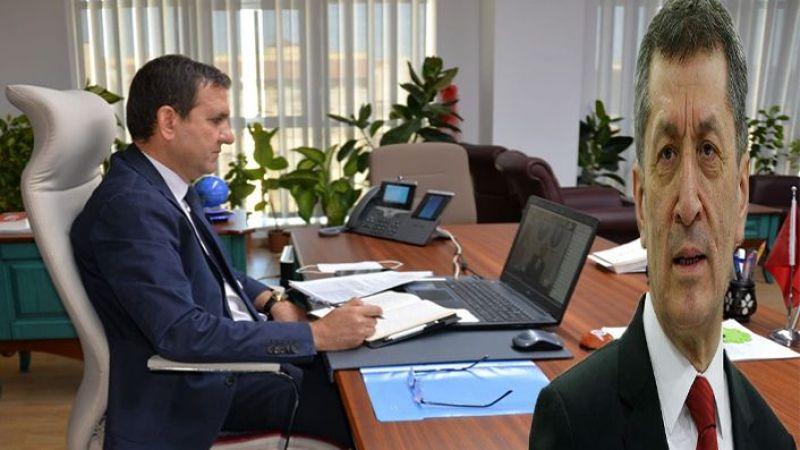 Bakan Selçuk, Urfa il Milli Eğitim müdürüyle görüştü