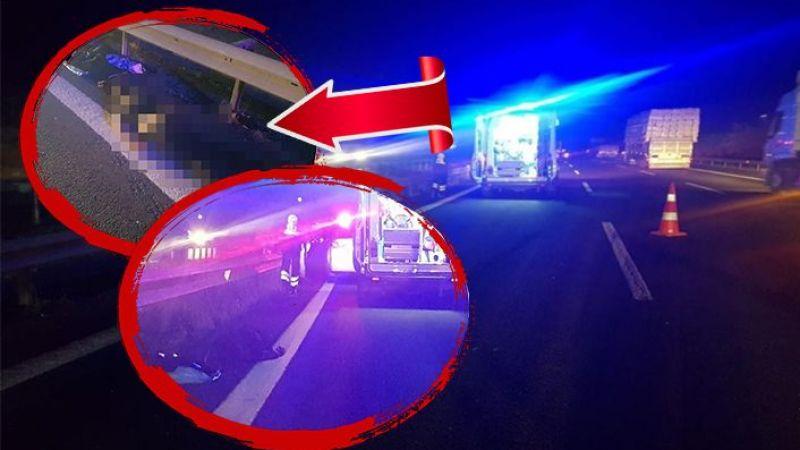Urfa-Antep yolunda korkunç kaza: Jandarmadan kaçarken can verdi