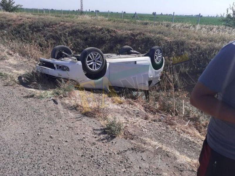 Urfa'da sağlık çalışanları kaza yaptı: Yaralılar var
