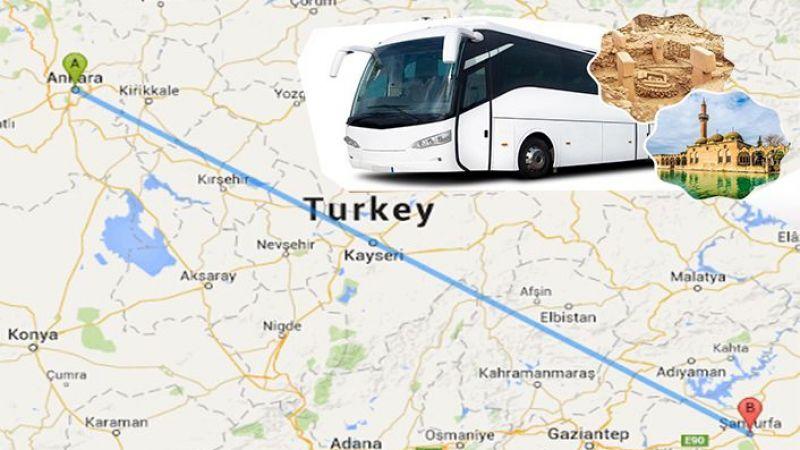 Ankara'dan Urfa'ya yolculuk başlıyor