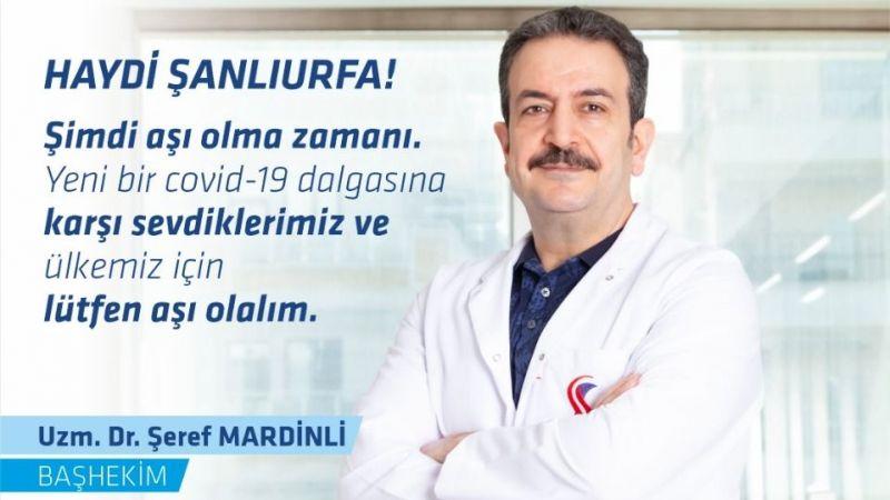 Başhekim Mardinli'den aşı uyarısı